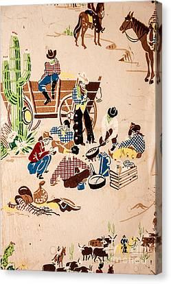 The Cowboy Way Canvas Print by Sue Smith