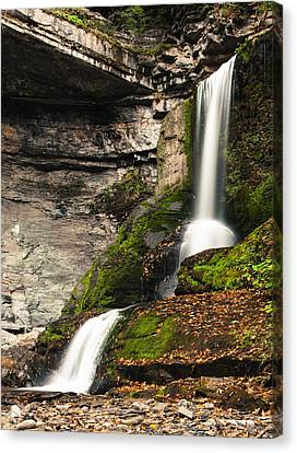 The Cowshed Falls Canvas Print