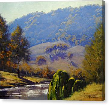 The Coxs River Canvas Print by Graham Gercken