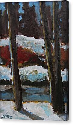 Canvas Print - The Creek by Suzanne Tynes
