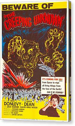 The Creeping Unknown, Aka Quatermass Canvas Print