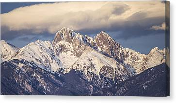 The Crestones 1x2 Canvas Print by Aaron Spong