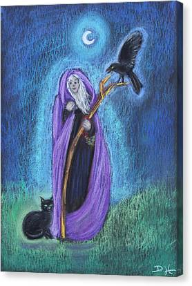 The Crone Canvas Print