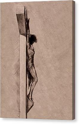 The Cross 2 Canvas Print by Derrick Higgins