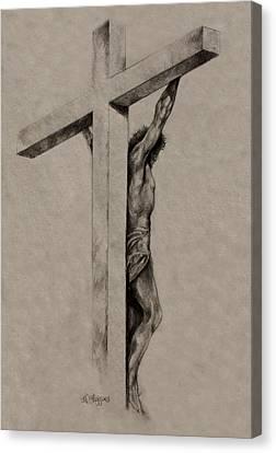 The Cross Canvas Print by Derrick Higgins
