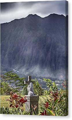 The Cross Canvas Print by Douglas Barnard