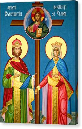 The Cross Icon Canvas Print