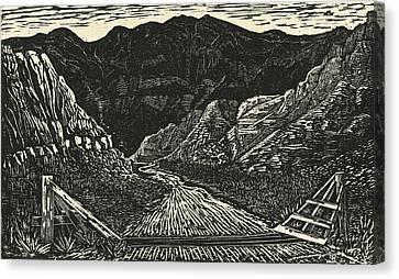 The Crossing Canvas Print by Maria Arango Diener