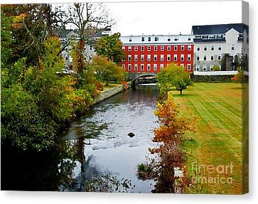 The Crown And Eagle Mill Canvas Print