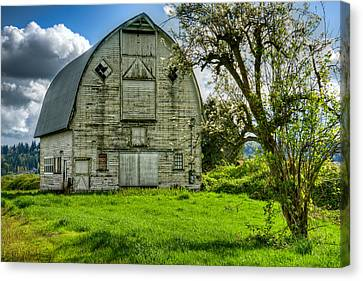 The Crying Barn Canvas Print