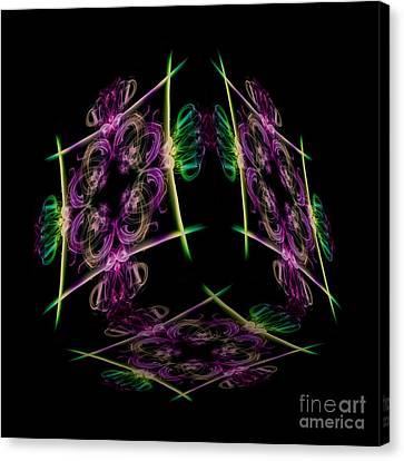 The Cube 7 Canvas Print by Steve Purnell