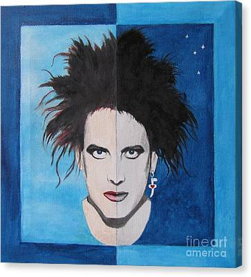 The Cure Canvas Print by Jeepee Aero