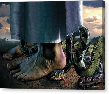 The Curse Canvas Print by Bill Stephens
