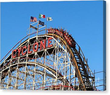 The Cyclone Canvas Print by Ed Weidman