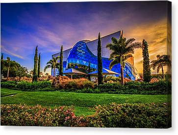 The Dali Museum Canvas Print by Marvin Spates