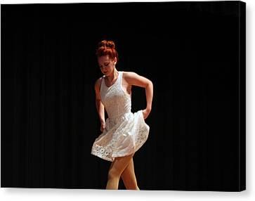 The Dance Canvas Print by Carolyn Ricks