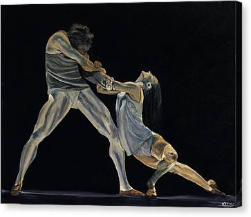 The Dance Canvas Print by James Kruse