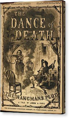 Law Enforcement Canvas Print - The Dance Of Death by British Library