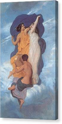The Dance Canvas Print by William Bouguereau