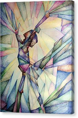 The Dancer Canvas Print by Jennifer Apffel
