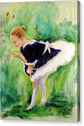 The Dancer Canvas Print by Sheila Diemert