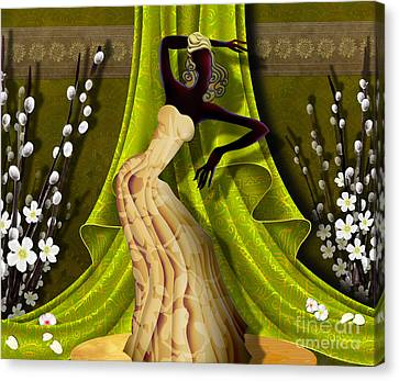 The Dancer V3 Canvas Print by Bedros Awak