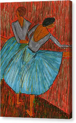 The Dancers Canvas Print by John Giardina
