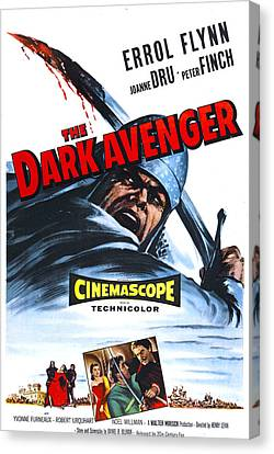 The Dark Avenger, Aka The Warriors, Us Canvas Print by Everett