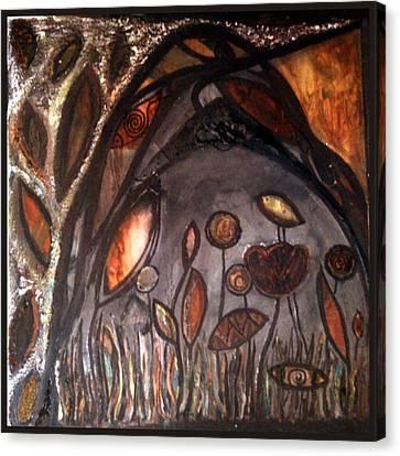 The Dark Night Canvas Print by Branko Jovanovic