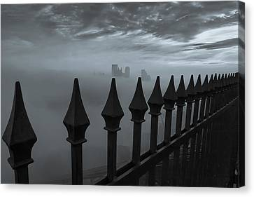 The Dark Night Canvas Print by Jennifer Grover