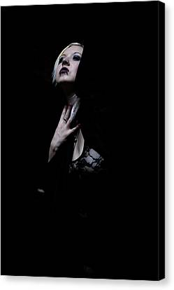 The Dark Witch Canvas Print