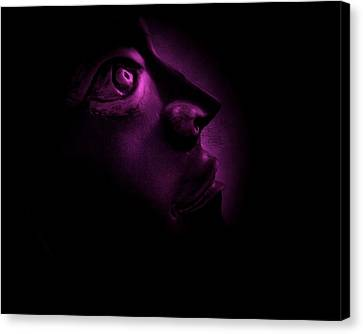 The Darkest Hour - Magenta Canvas Print by David Dehner