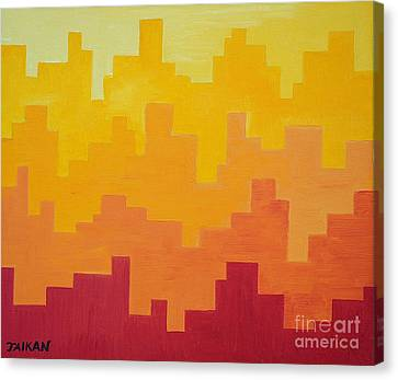Canvas Print - The Dawn Is Breaking by Taikan Nishimoto