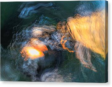 The Dawn Of Time Canvas Print by Steve Belovarich