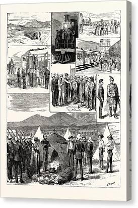 The De Aar Expedition South Africa 1. The De Aar Railway Canvas Print by South African School