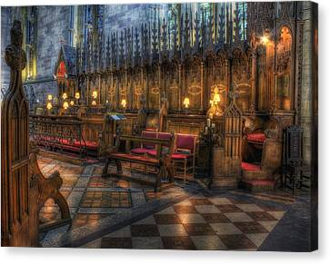 The Dean's Seat Canvas Print by Ian Mitchell