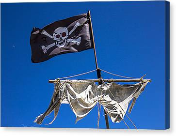 Sail Cloth Canvas Print - The Death Flag by Garry Gay