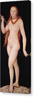 The Death Of Lucretia Canvas Print