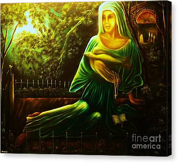 The Death Of Ruth- Private Art Collection-buy Giclee Print Nr 33 Of Limited Edition Of 40 Prints Canvas Print
