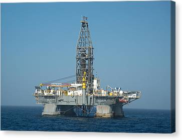 Canvas Print featuring the photograph The Deepwater Horizon by Bradford Martin