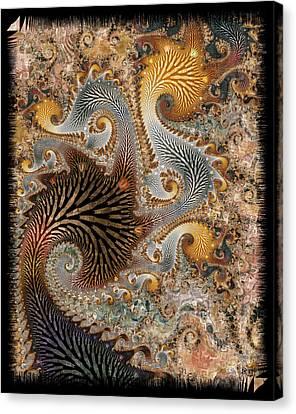 The Delta Canvas Print by Kim Redd