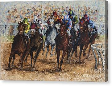 The Derby Canvas Print