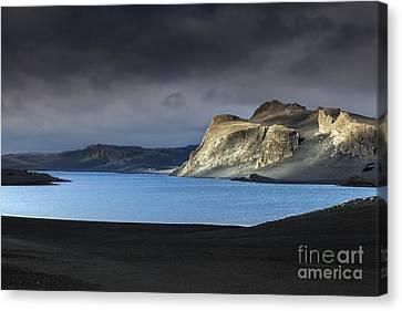 The Desert Canvas Print by Gunnar Orn Arnason