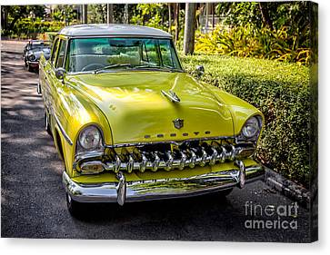 Grill Canvas Print - The Desoto  by Adrian Evans