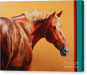 The Destrier Canvas Print