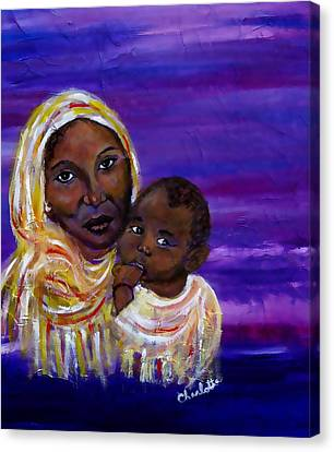 The Devotion Of A Mother's Love Canvas Print