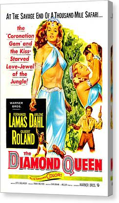 The Diamond Queen, Us Poster, From Left Canvas Print