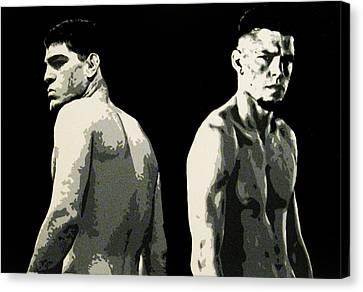 The Diaz Bros Canvas Print