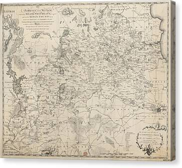 The Diocese Of Meath Canvas Print by British Library