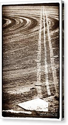 The Dirt Field Canvas Print by John Rizzuto